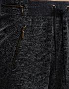 Spodnie dresowe z zameczkami