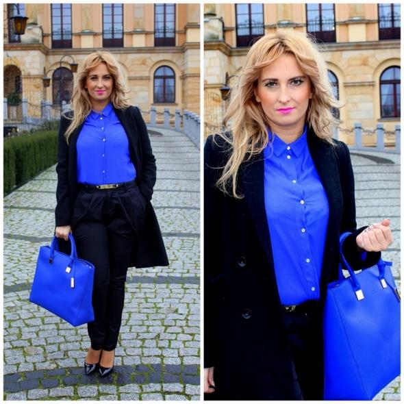 Blogerek Kobaltowa koszula