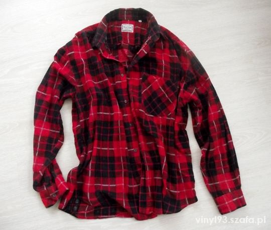 Koszule Koszula w kratę czerwona