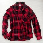 Koszula w kratę czerwona