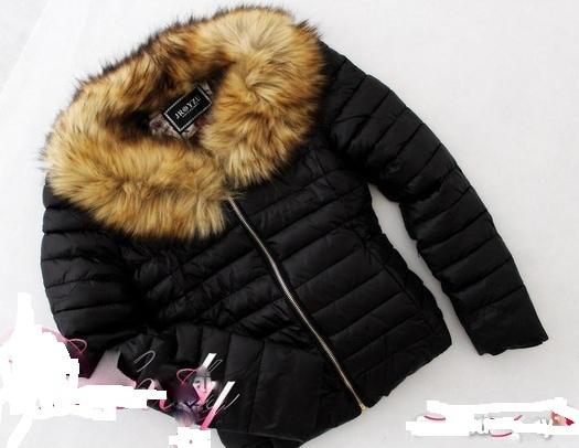 Ubrania kurtka z futerkiem