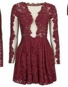 Poszukuję koronkowej sukienki top shop