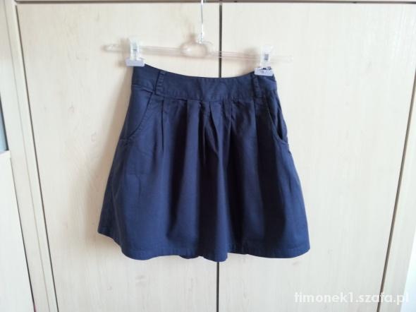 Spódnice granatowa spódniczka VERO MODA