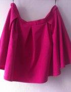 Rozkloszowana spódnica różowa