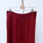 Spódnica Czerwona Ażurowa M 38 Koronkowa