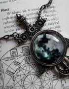 Moon sword necklace