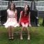 Brzoskwiniowe sukienki