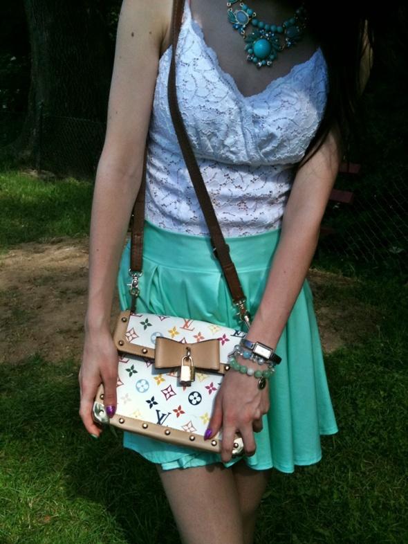 Blogerek Mint skirt