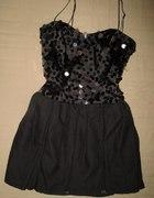 Sukienka na sylwester cekiny bombka TOPSHOP