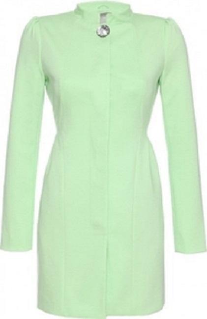 Zielony płaszcz orsay...