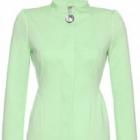 Zielony płaszcz orsay