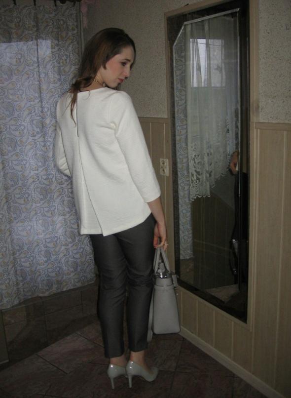 Eleganckie Asymetryczna bluzka