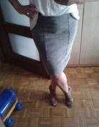 spódnica marmurkowa szara reserved