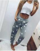 spodnie dresowe pink & gray