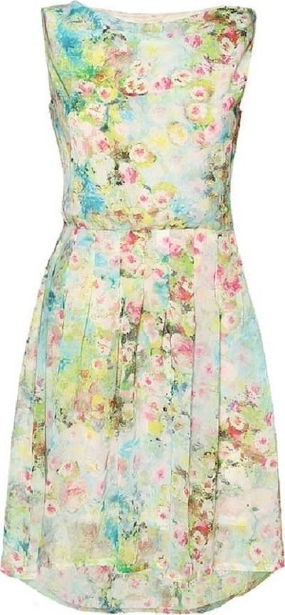 Zwiewna sukienka ORSAY...