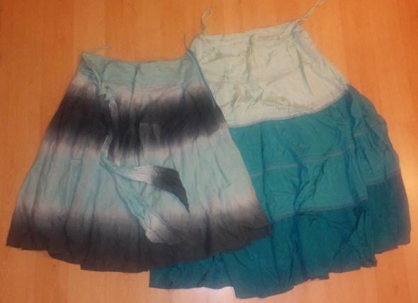 Spódnice 2 spódniczki etno romantyczne ombre 40 L