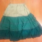 2 spódniczki etno romantyczne ombre 40 L