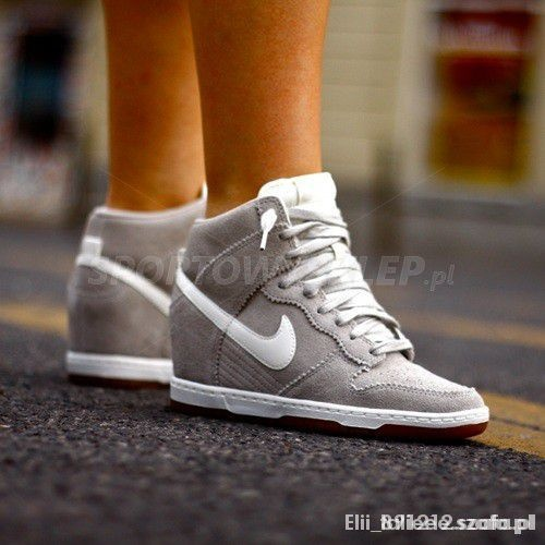 Nike Dunk Sky Hi Pale grey...