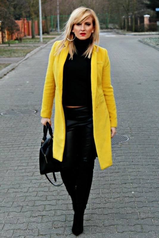 Blogerek żółto czarny