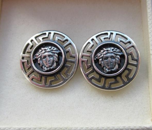 VERSACE biżuteria srebrna...