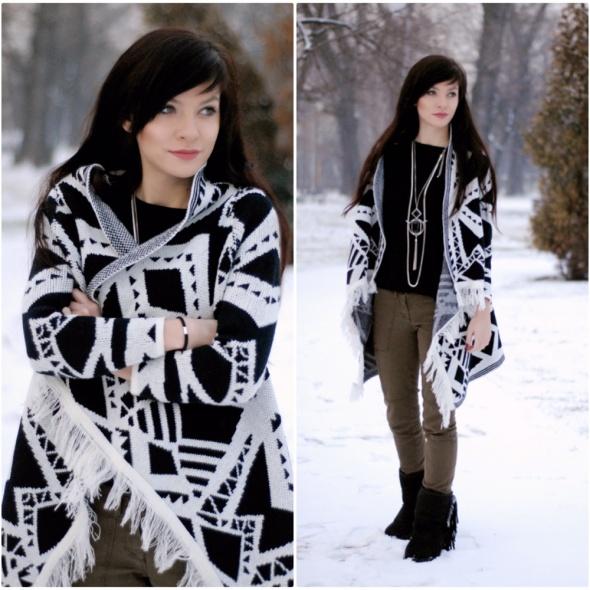 Blogerek first snow