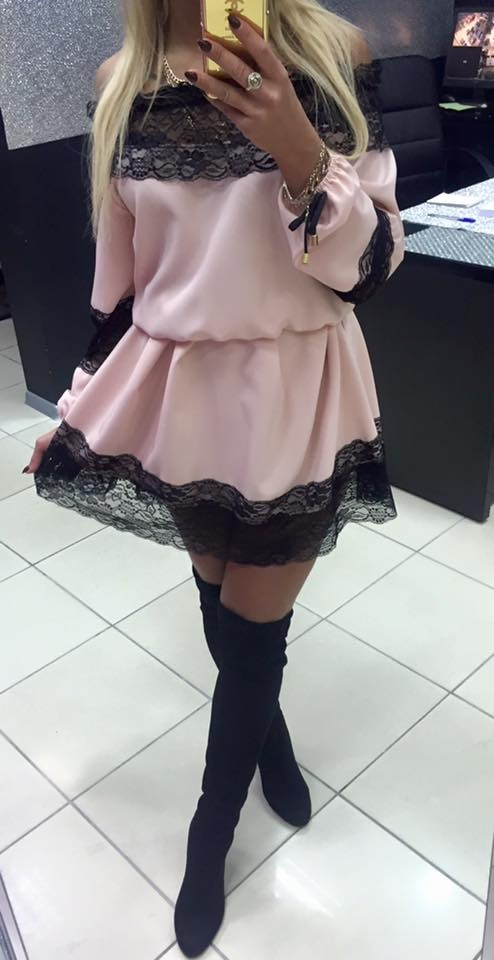 Mój styl Sexy pudrowa