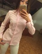 Pudroworóżowa koszula ZARA