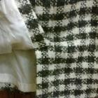 Spódnica ołówkowa 42 monnari wełna pepita