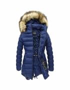 Granatowa kurtka zimowa