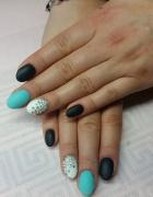 paznokcie mistero milano manicure hybryda CYRKONIE