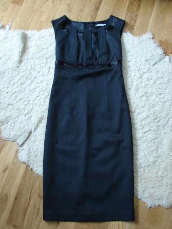 9ba1a0d07d czarna grafitowa ołówkowa sukienka de facto w Suknie i sukienki ...