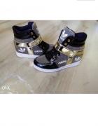 sneakersy brokat koturny adidas oryginals