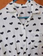 koszula w serduszka M L