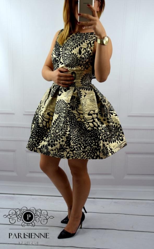 Eleganckie GOLD&BLACK