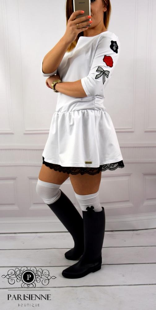 Mój styl Dress WHITE