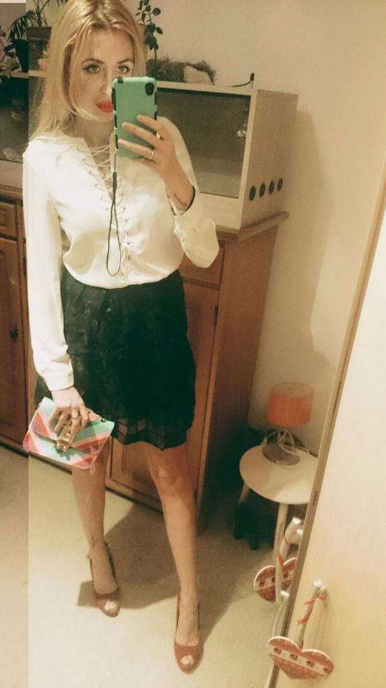 Mój styl bialo czarno
