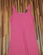 Pink sukienka...