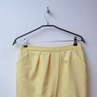 Mohito żółta jasna spódnica z kieszeniami 38
