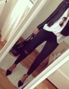 cassual black&white