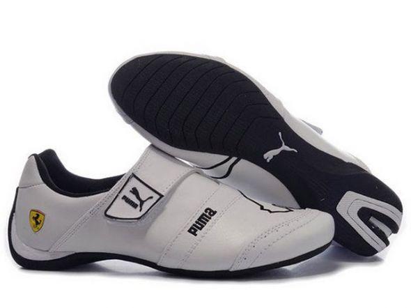 buty puma ferrari białe