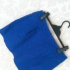 Spódniczka kobaltowa
