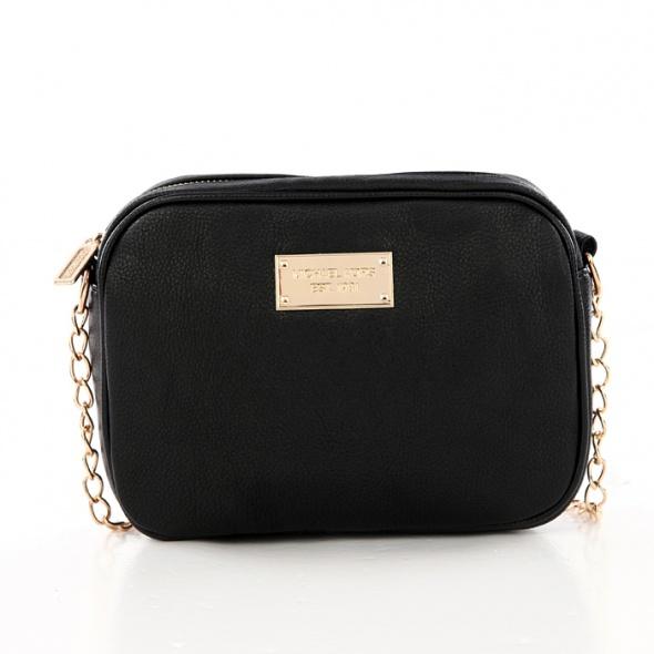 18fbac92f5465 mała czarna torebka na łańcuszku w Dodatki - Szafa.pl