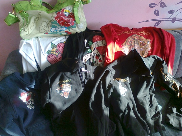 My Ed Hardy collection 1