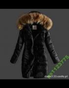 kurtka lub płasz czarna Moncler...