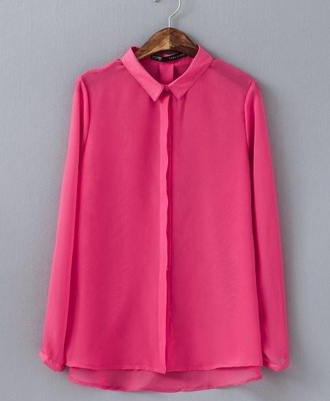 koszula elegancka różowa neonowa neon 38 40 zara