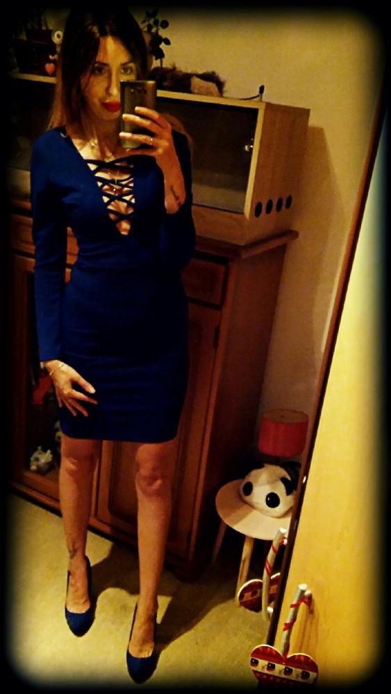 Mój styl Niebiesko mi