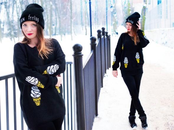 Blogerek Winter ICE CREAM