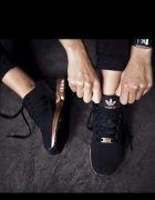 Buty Adidas zx flux S78977 złota podeszwa