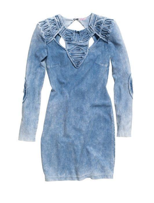Fashion Against Aids Jeans Dress...