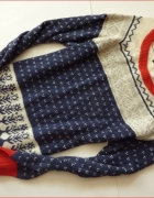 Mięciutki sweter z angorą 46